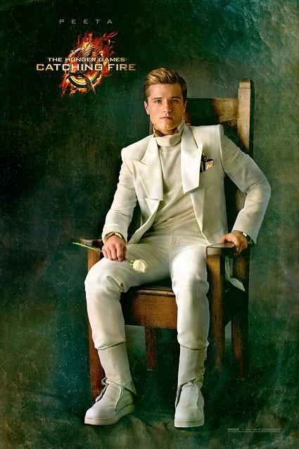 Hunger Games - La ragazza di fuoco: character poster di Josh Hutcherson