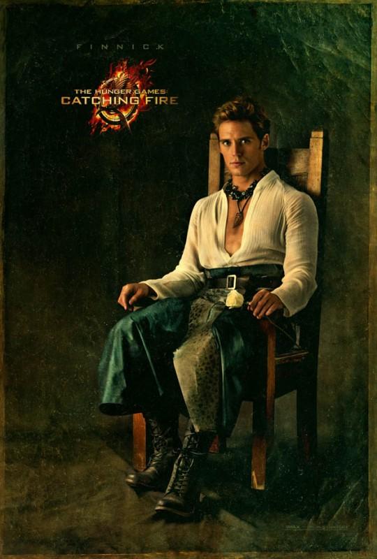 Hunger Games - La ragazza di fuoco: character poster di Sam Claflin