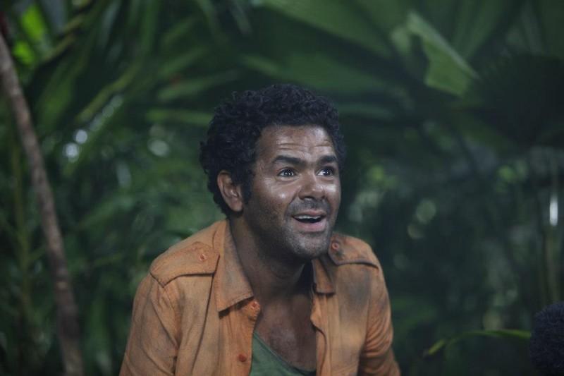Jamel Debbouze nei panni di Pablito Camaron in una scena di Marsupilami