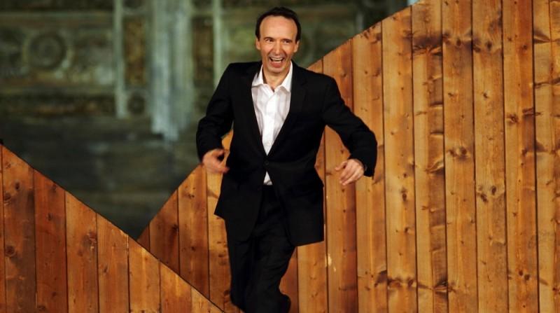 Roberto Benigni in 'TuttoDante' - Foto di Claudio Iannone