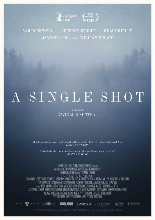 A Single Shot: nuovo poster