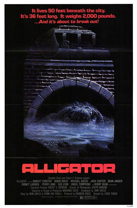 Alligator: la locandina del film