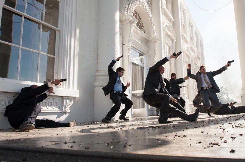 Attacco al potere - Olympus Has Fallen: l'attacco alla Casa Bianca in una scena del film