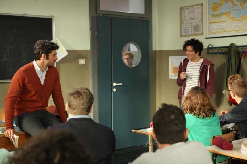 Bianca come il latte, rossa come il sangue: Luca Argentero e Filippo Scicchitano in una scena