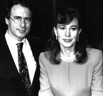 Chi l'ha visto? - Alessandra Graziottin con Luigi di Majo, conduttori di una delle prime edizioni.