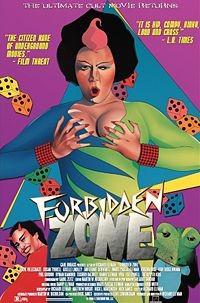 Forbidden Zone: la locandina del film