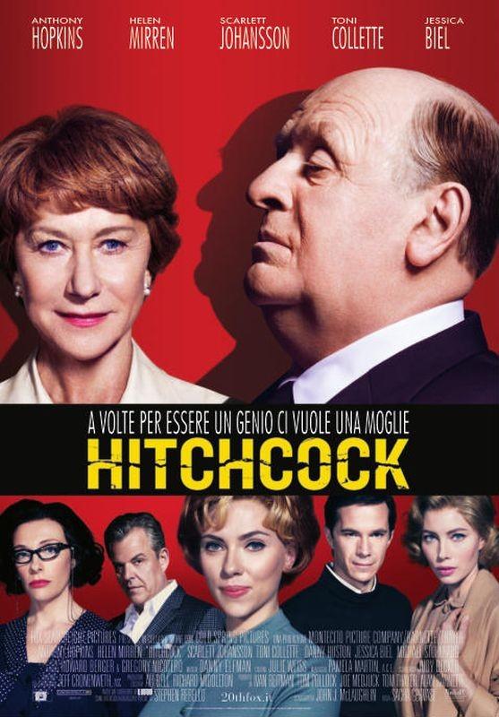 Hitchcock: la locandina italiana