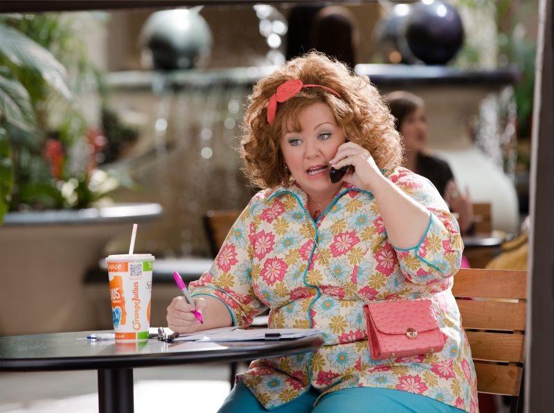 Melissa McCarthy in una scena della commedia Io sono tu
