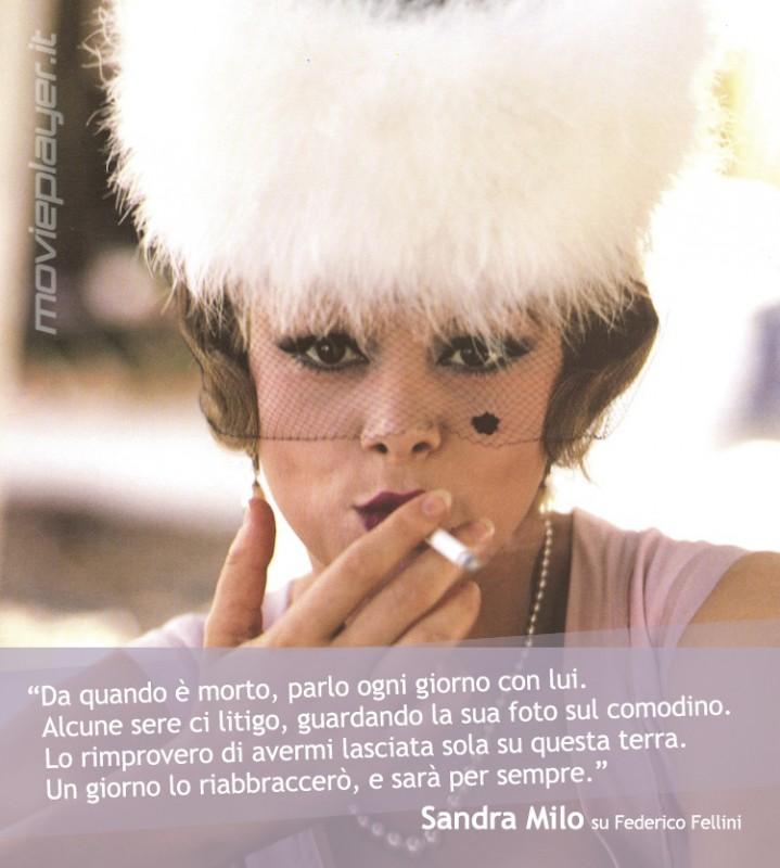 Sandra Milo in Otto e mezzo di Fellini: la nostra e-card da condividere sui social network e inviare a chi vuoi!