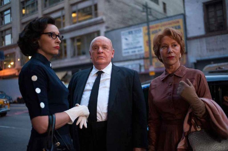 Toni Collette con Anthony Hopkins ed Helen Mirren in Hitchcock