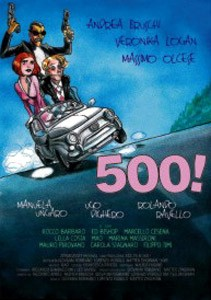 500!: la locandina del film