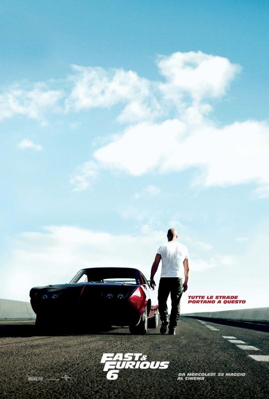 Fast & Furious 6: il teasero poster italiano con Vin Diesel
