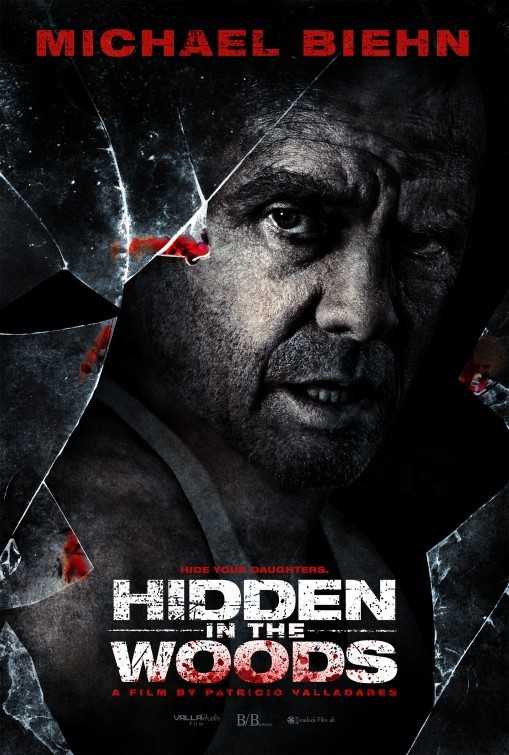 Hidden in the Woods: la locandina del film