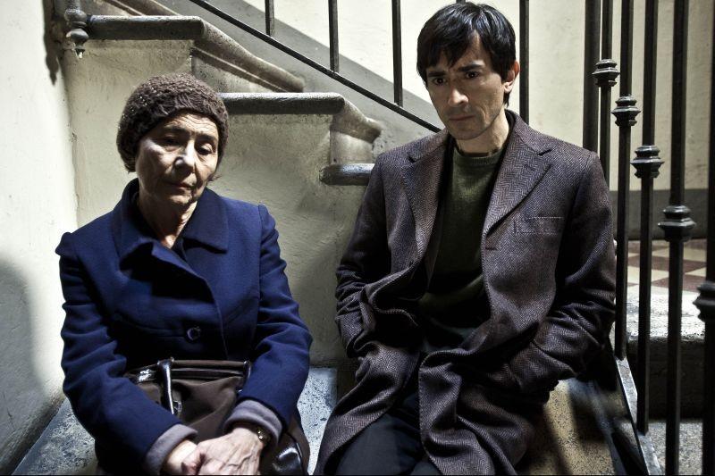 La città ideale: Luigi Lo Cascio in una scena con la madre Aida Burruano
