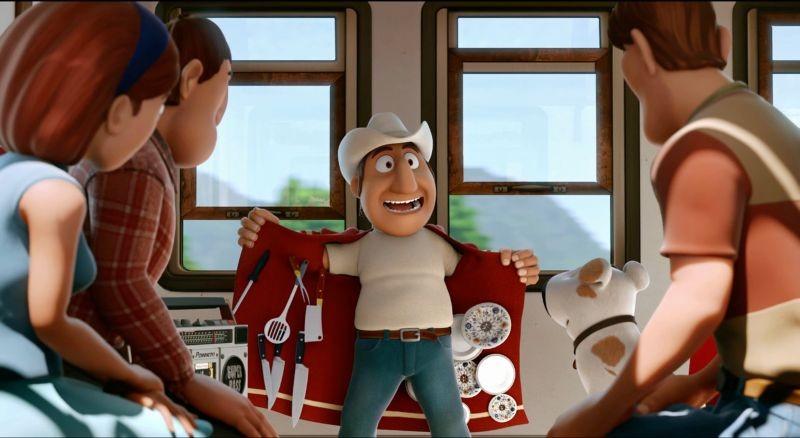 Le avventure di Taddeo l'esploratore: la guida peruviana Freddy in una scena del film