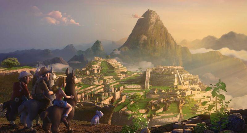 Le avventure di Taddeo l'esploratore: Sara, Freddy e Taddeo arrivano nella città peruviana