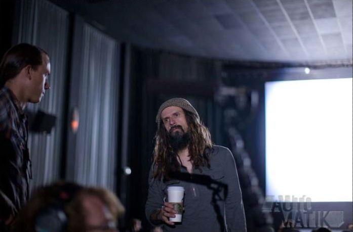 Le streghe di Salem: il regista Rob Zombie in un'immagine dal set