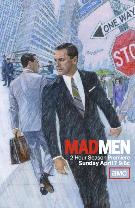 Mad Men: un poster della stagione 6