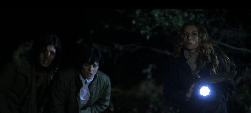 Midway - Tra la vita e la morte: Elaine Bonsangue e Antonella Salvucci in una scena del film horror diretto da John Real