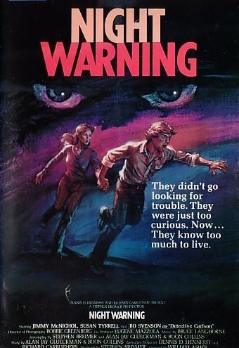 Night Warning: la locandina del film