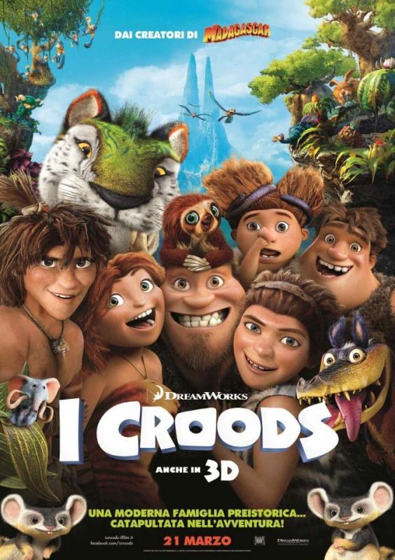 The Croods: la locandina italiana del film