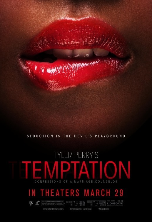 Tyler Perry's Temptation: Confessions of a Marriage Counselor: un nuovo sensuale poster