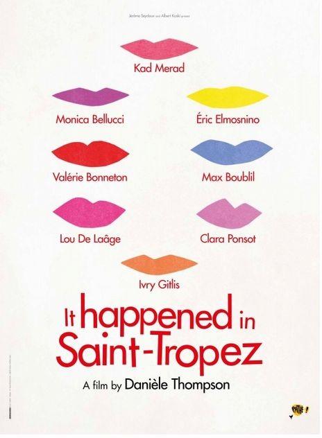 E' successo a Saint-Tropez: la locandina internazionale del film