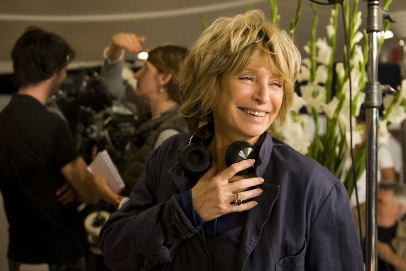 E' successo a Saint-Tropez: la regista Danièle Thompson sul set del film