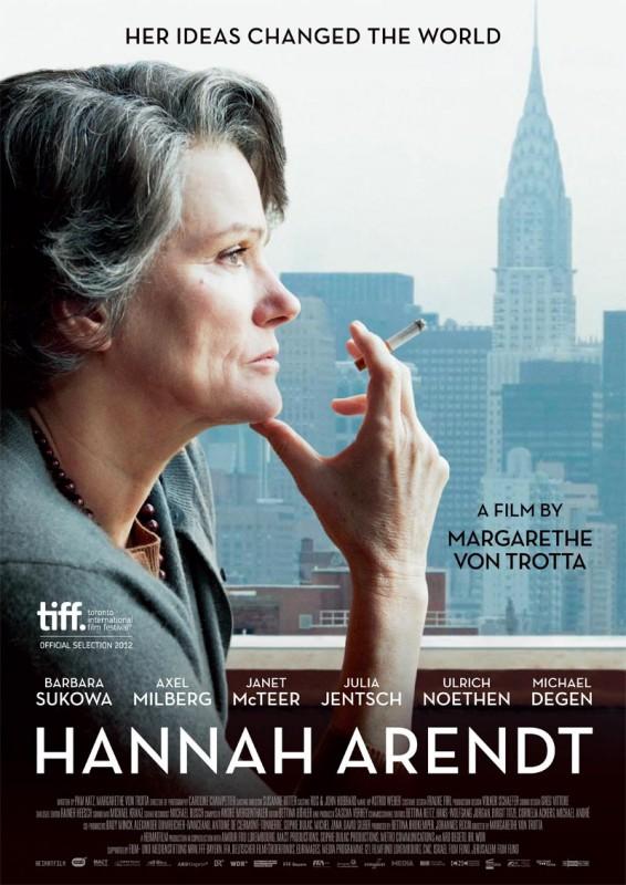 Hannah Arendt: la locandina del film
