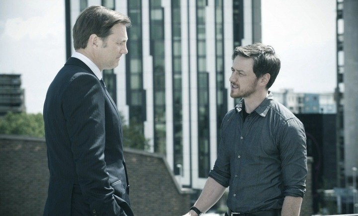 James McAvoy in Welcome to the Punch con David Morrissey
