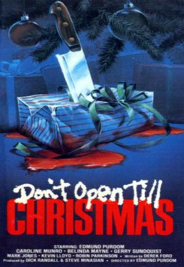 Non aprite prima di Natale!: la locandina del film