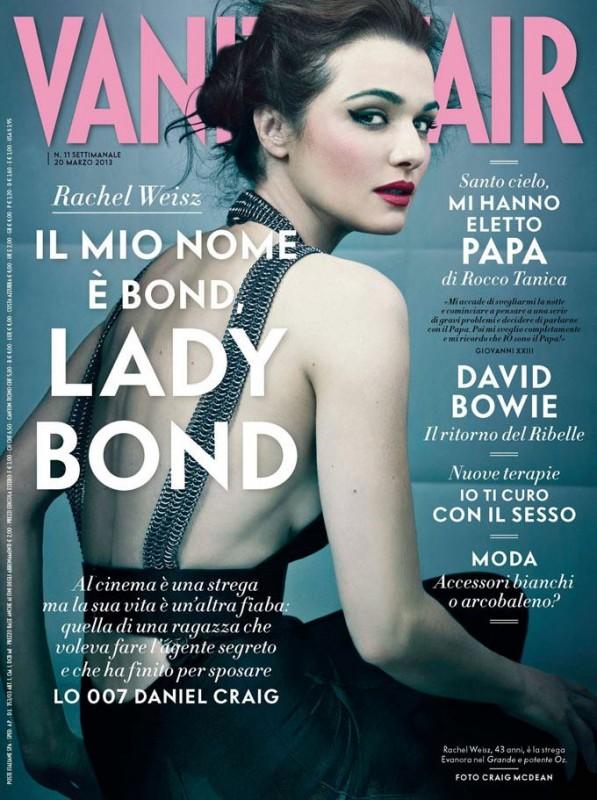 Rachel Weisz sulla cover di Vanity Fair Italia - marzo 2013