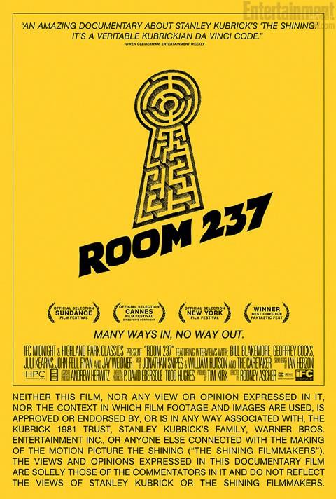 Room 237: la nuova locandina del film