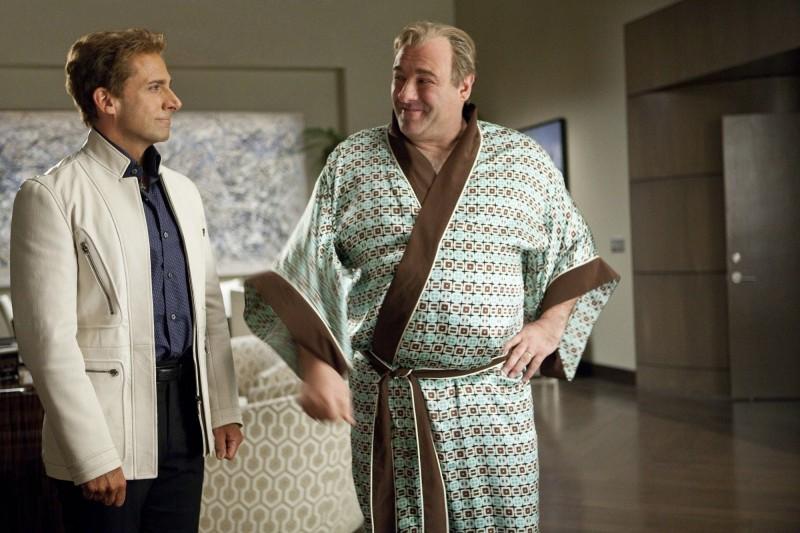 The Incredible Burt Wonderstone: Steve Carell con James Gandolfini