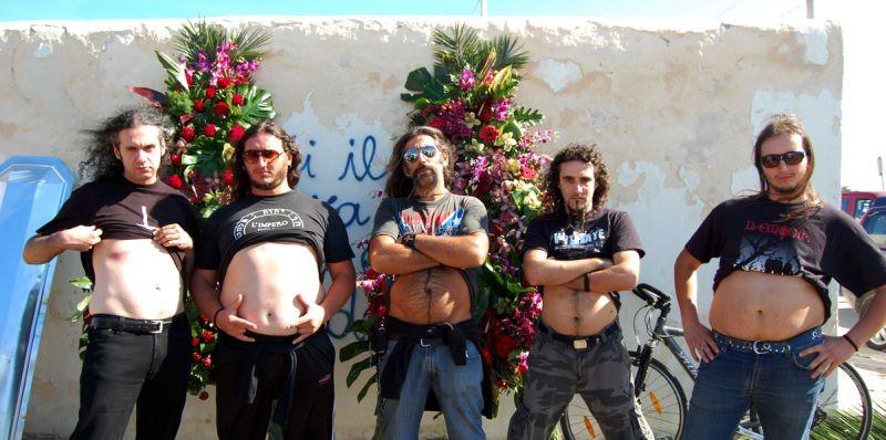 W Zappatore: il chitarrista Marcello Zappatore in una scena con la sua band