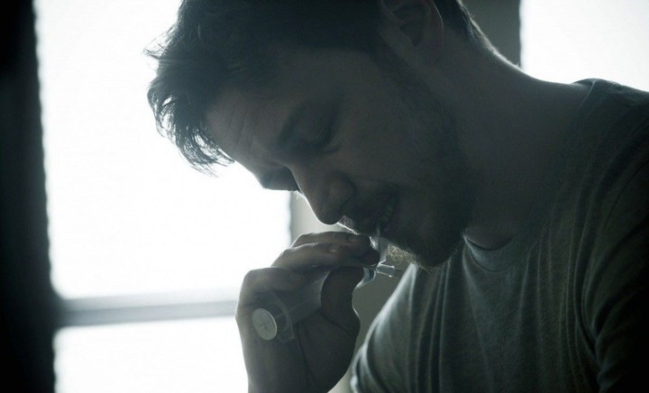 Welcome to the Punch: James McAvoy in una scena.