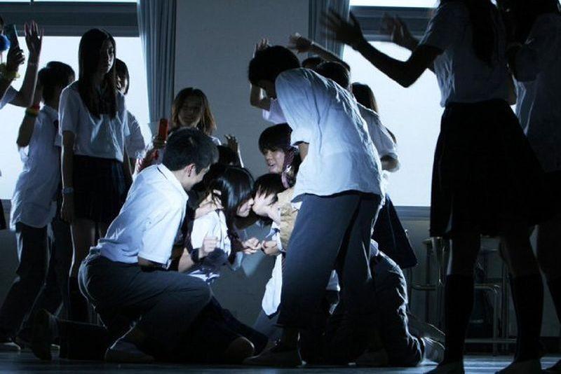 Confessions: una concitata e giocosa scena del film