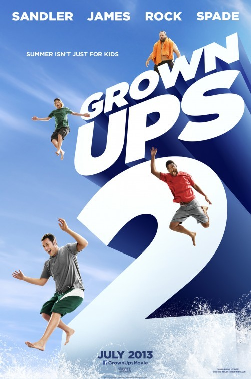 Grown Ups 2: nuovo poster
