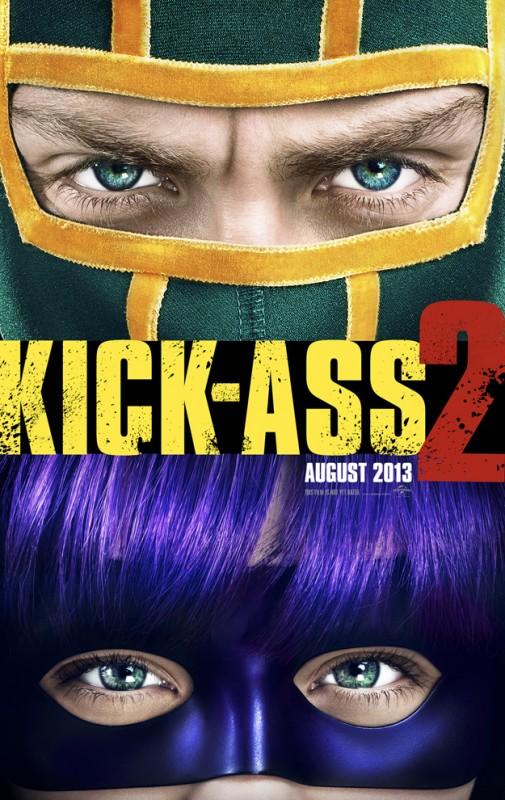 Kick-Ass 2: la locandina del film
