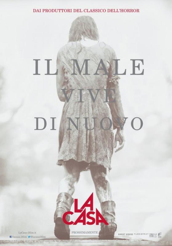 La casa: uno dei teaser poster italiani del film