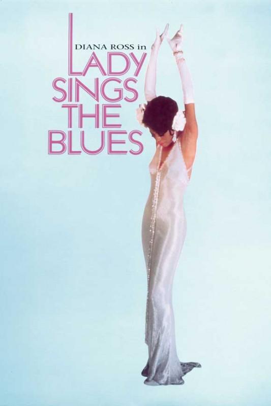 La signora del blues: la locandina del film