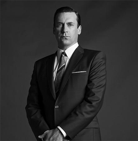 Mad Men: Jon Hamm in una foto promozionale della stagione 6
