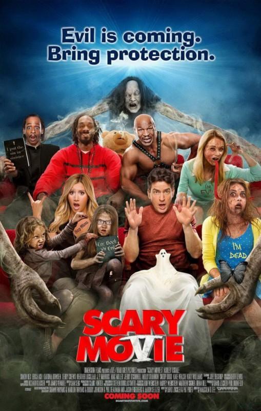 Scary Movie 5: la nuova locandina del film