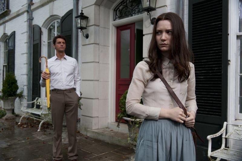 Stoker: Mia Wasikowska e Matthew Goode in un momento del film