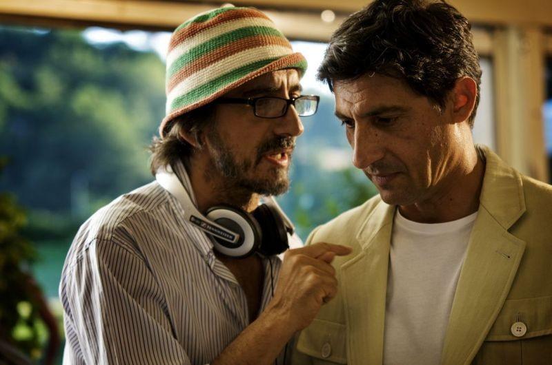Mi rifaccio vivo: il regista Sergio Rubini sul set con Emilio Solfrizzi