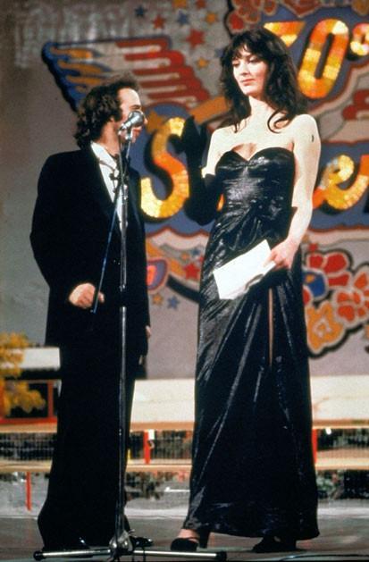 Sanremo 1980 - Roberto Benigni e Olimpia Carlisi