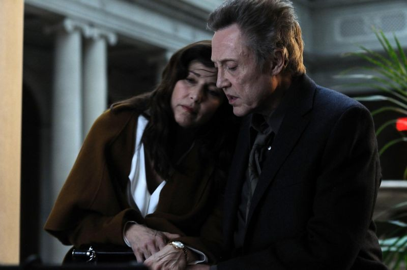 Una fragile armonia: Christopher Walken e Catherine Keener in una scena del film