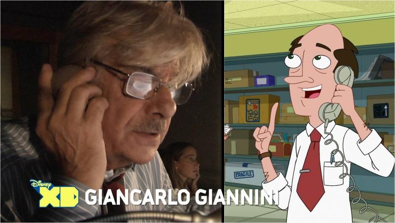 Phineas e Ferb: Giancarlo Giannini in sala di doppiaggio per l'episodio speciale del 19 Marzo 2013