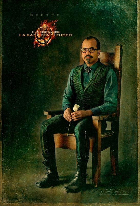 Hunger Games - La ragazza di fuoco: character poster italiano di Beetee