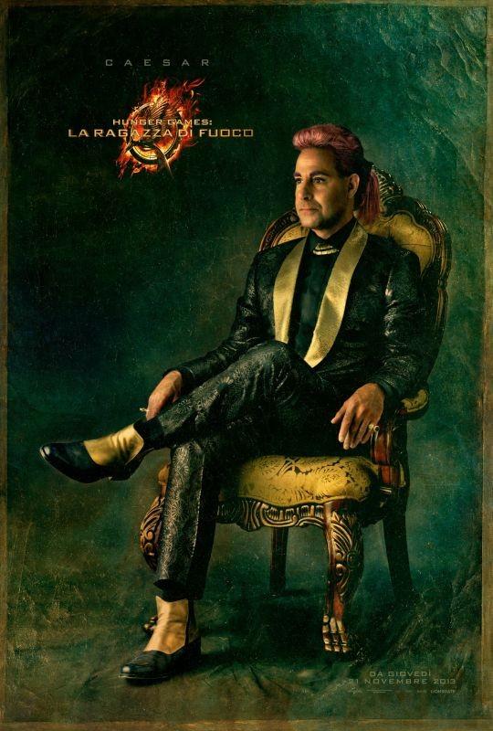 Hunger Games - La ragazza di fuoco: character poster italiano di Caesar
